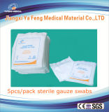 Forneça 100mlx100mm Medical Cotton Gauze Swabs for Clinic
