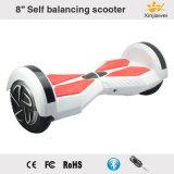 8inch équilibrant l'E-Scooter électrique d'éclairage LED de Bluetooth de scooter