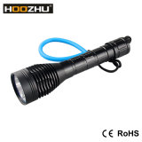 A lâmpada 1000lm máximo do mergulho do diodo emissor de luz do CREE de Hoozhu D12 Waterproof 100m