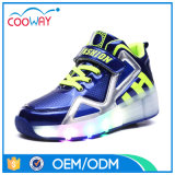 China Ruedas Roller Shoes Fabricante LED Light hasta Roller Skate Wheel Shoes