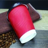 Il marchio all'ingrosso della fabbrica della Cina di prezzi bassi ha stampato il Takeaway riciclato del caffè della tazza di carta