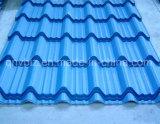 China-preiswerter Preis runzelte das Stahldach-Blatt ein Profil erstellte Stahldach-Blatt, das von Farbe beschichtetem Stahl vorgestrichenem galvanisiertem Stahlblech mit guter Qualität gebildet wurde