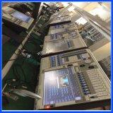 Ala della sezione comandi di illuminazione della strumentazione Ma2 DMX del DJ grande