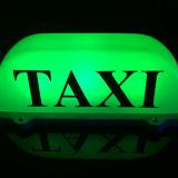 자석 기초를 가진 택시 톱 라이트 LED 지붕 택시 표시 12V