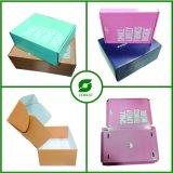 Rectángulo de envío impreso color de la ropa para la ropa del bebé del embalaje