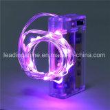 Rose Mini Battery Operated riz décoration pur fil de cuivre AA lumière de vacances à cordes