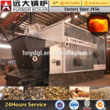 6ton Stoomketel van de Biomassa van het Stro van de Capaciteit szl6-1.25-t de Houten In brand gestoken Korrel