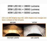 H11 Csp LED 헤드라이트 변환 장비 수리용 부품시장 보충