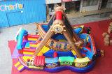 Piraten-Lieferungs-aufblasbares springendes Prahler-Hindernis für Kinder (CHOB520-1)