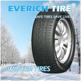 neumático radial tachonado 225/55r18 de la polimerización en cadena de la marca de fábrica del neumático del coche de los neumáticos del invierno con kilometraje largo