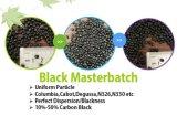 El plástico a granel de los plásticos del HDPE granula Masterbatch negro