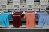 Wonyo 4 de HoofdMachine van het Borduurwerk voor Beste Prijs van het Borduurwerk van Cording van het Lovertje van de Parels van de T-shirt van GLB de Vlakke Boring in India