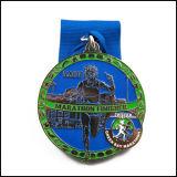 Médaille d'athlètes de marathon d'usine avec le dessin-modèle