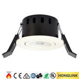 Fuoco LED Rated Downlight del Ce 5W Dimmable LED Spotllight BS476