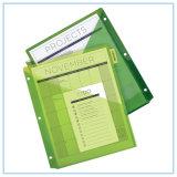 Divisores plásticos del Dos-Bolsillo insertable grande de la tabulación 8 tabulaciones