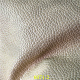 高品質の美しい石造りの穀物デザインPUのレザー