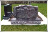 Headstones graves do granito dos Headstones do projeto do Headstone para o cemitério