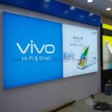 LED 가벼운 상자를 광고하는 상점가 디자인 Frameless 직물