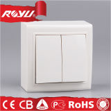2つの一団2の方法電気壁スイッチ価格
