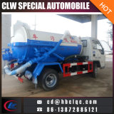 Foton 4000Lの下水道の処分タンクトラックの下水のトラックの下水のタンカー