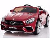 12V autorizó el paseo de Mercedes SL65 en el juguete del coche