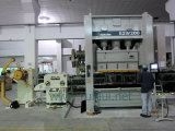 Автомат питания листа катушки с раскручивателем для пользы машины давления в изготовлениях бытовых приборов