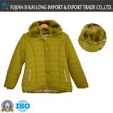 取り外し可能なキャップとファッションWonmenの冬のパッド入りジャケット