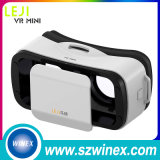 Vidros plásticos da realidade virtual 3D da versão de Leji da caixa colorida de Vr para Smartphone