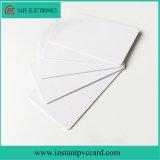 Carte imprimable de PVC de jet d'encre de taille de Cr80*30mil
