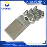 Tipo cobre de Slg-Q y abrazaderas terminales de la transición del aluminio con cubrir con bronce