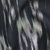 Metallische geschnitzte Stapel-Chiffon- Gewebe