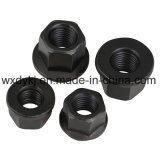 DIN 6923 Acier à Carbon Black Black Hexagon Flange Nut