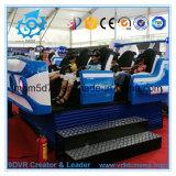 Simulatore interattivo elettrico del cinematografo di vetro 9d del cinematografo 9DVR 3D di film del cinematografo 9d delle sedi del Mobile 6 del camion
