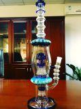 Neuer Ankunfts-Großverkauf Hbking 16.5 Zoll Handblown grösseres 14mm gemeinsames Glaswasser-Rohr