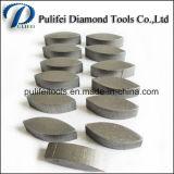 Segment de meulage concret dur d'étage pour la plaque de l'obligation PCD en métal