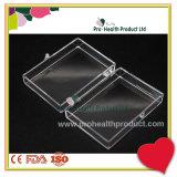 коробка PS размера 57*41*18mm малым прозрачным пластичным рециркулированная квадратом