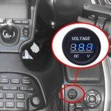 visualizzatore digitale del voltmetro LED di CC 12-24V impermeabile