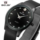 Belbi Form-Geschäfts-beiläufige Analogdarstellung-Frauen-Armbanduhr
