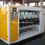 Máquina rotatoria del atajo del Ordenador-Control del Nc con el cuchillo helicoidal
