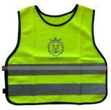 Vest week-8601 van de Waarschuwing van de Veiligheid van de polyester 120GSM breiend