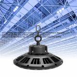 UFO LED Highbay ligero IP65 a prueba de agua 130lm / W 100 W 240 W 200 W 160 W