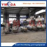 Equipamento da esterilização do alimento da classe elevada de aço inoxidável de preço de fábrica