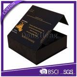 Diferentes colores de impresión caja de embalaje cosmético con la manga de papel