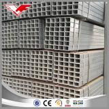 A tubulação de aço galvanizada/galvanizou a tubulação quadrada/tubulação retangular galvanizada para a construção de aço