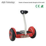 Mobilitäts-Roller Minipro 10 Zoll aufblasbare Gummireifen-elektrische Schwebeflug-Vorstand-Samsung Fahrwerk-Batterie-