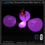 Form Plastikstab-Stuhl der beleuchtung-Möbel-LED