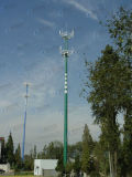 Tour en acier de télécommunication de haute qualité