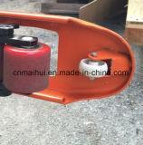 Camion de palette manuel avec la pompe soudée
