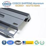 Protuberancia del aluminio de Customzied/de aluminio para el recinto del amplificador del coche con ISO9001 certificado