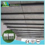 Placa de sanduíche do cimento do EPS da construção/painel rápidos para edifício pré-fabricado